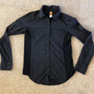 Lucy black button up